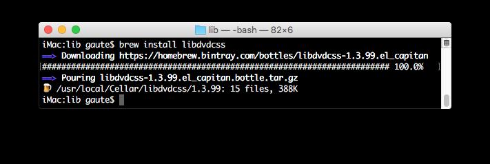 Terminalvindu på Mac