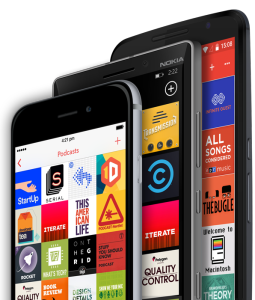 Pocket Casts for mobile