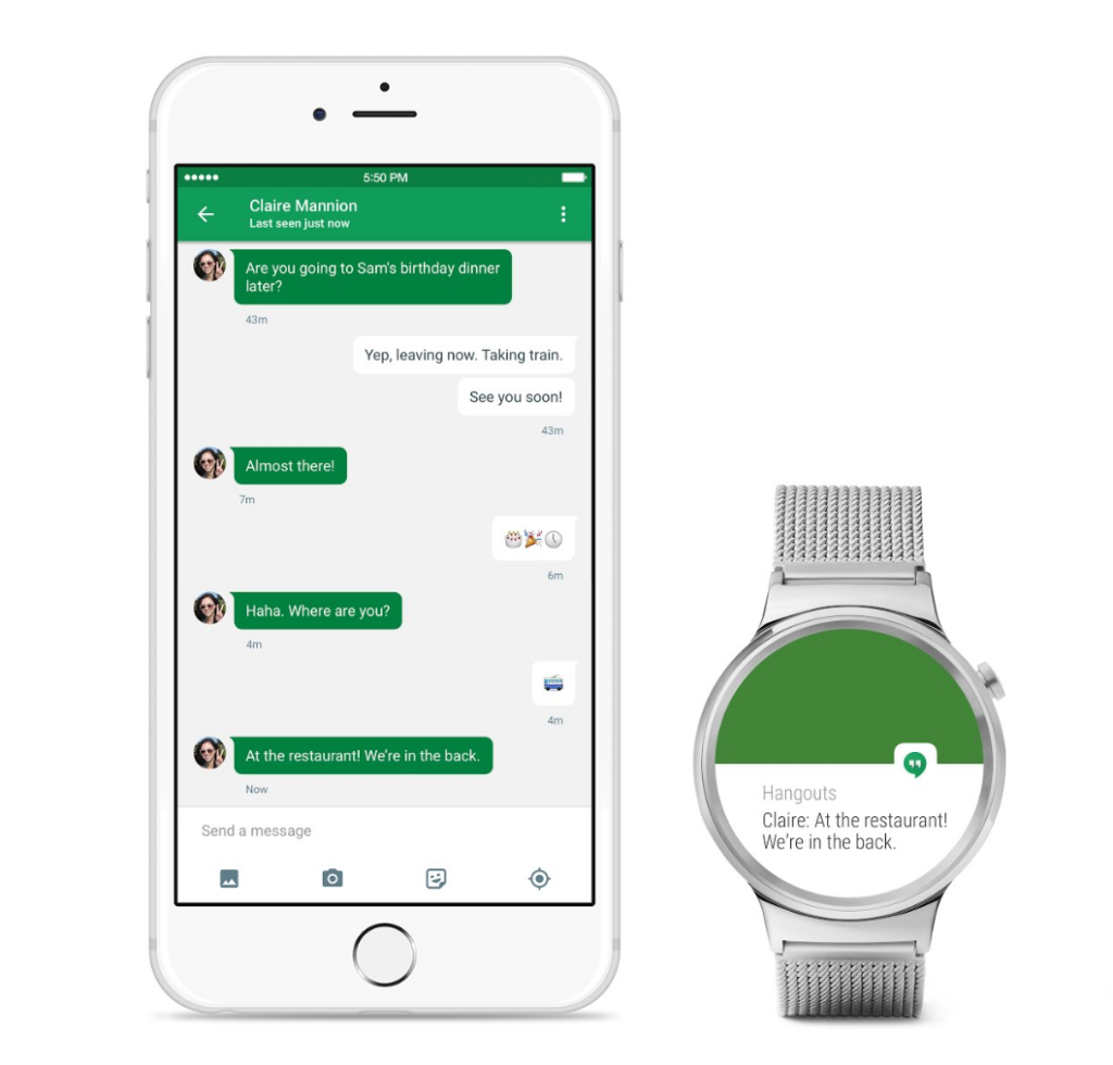 AndroidWear for iOS