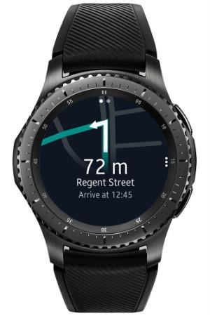 Here WeGo på Samsung Gear S3 smartklokke.
