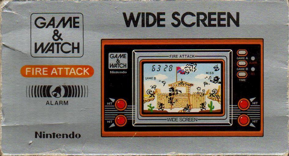 Nintendo Game & Watch Fire Attack