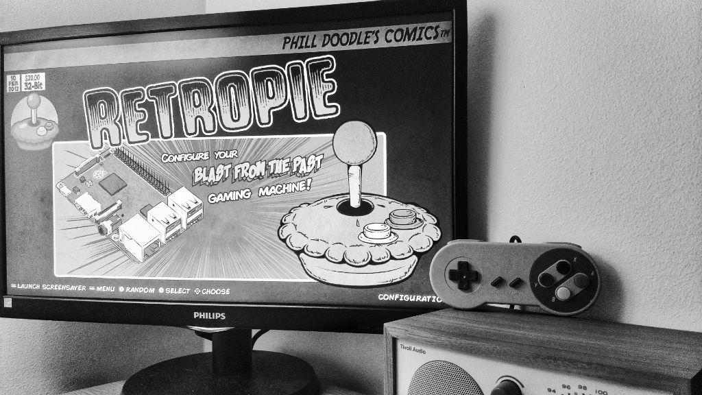 RetroPie – TV-spill fra barndommen