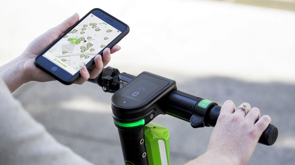 Lime Scooters app