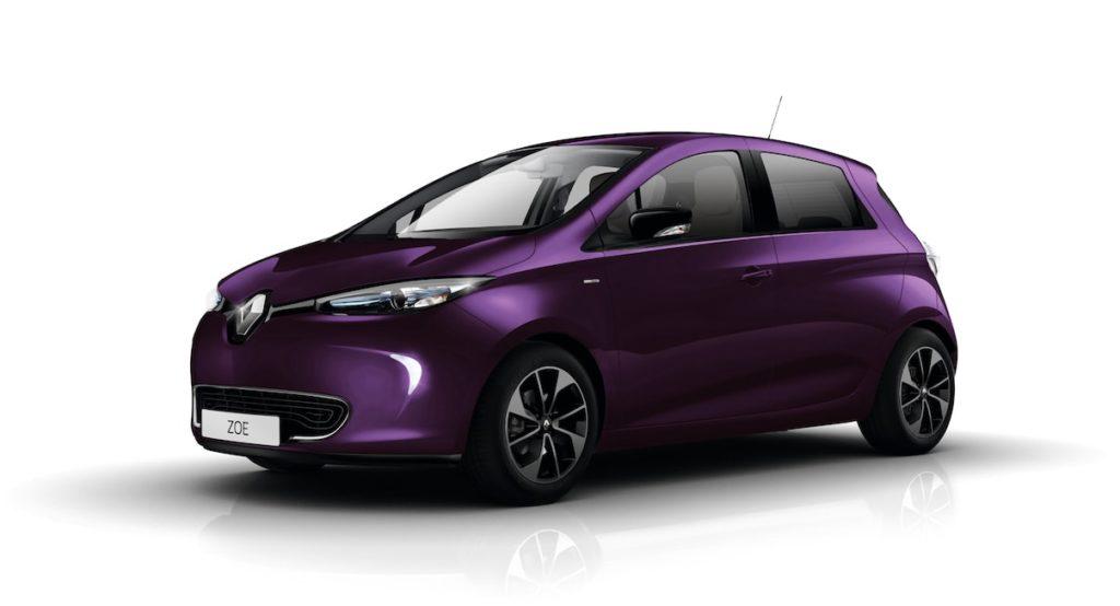 Renault Zoe Lilla Blueberry