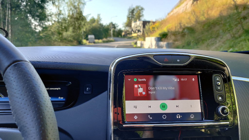 Android Auto og Renault Zoe