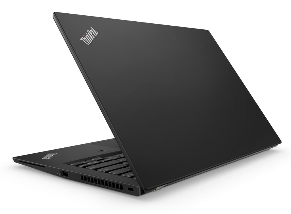 Lenovo Thinkpad T480s sett bakfra