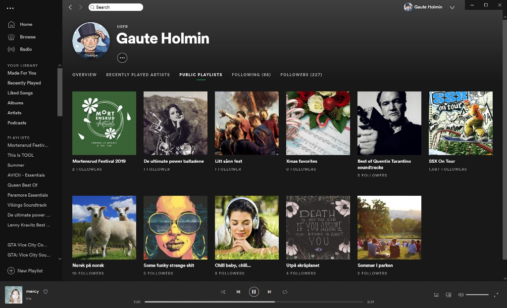 Spotify Public Playlists