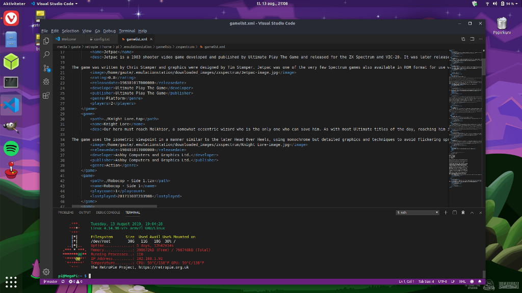 Visual Studio Code for Ubuntu
