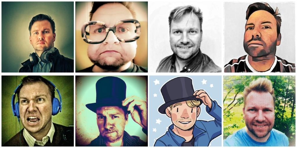 Diverse profilbilder