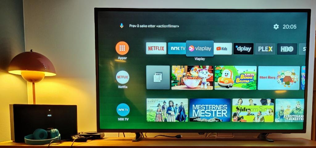 Nvidia Shield TV (2019) hjemskjerm
