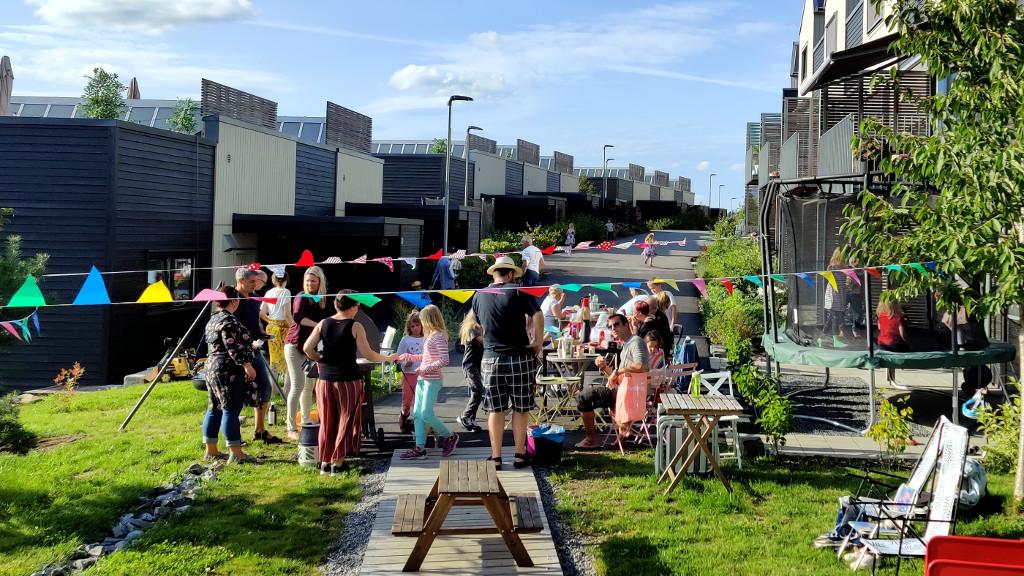 Sommerfest i Stenbråtlia Borettslag