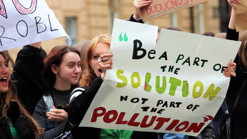 Ungdommer i klimastreik
