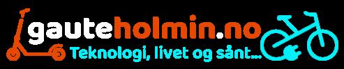 Gaute Holmin – Teknologi, livet og sånt…