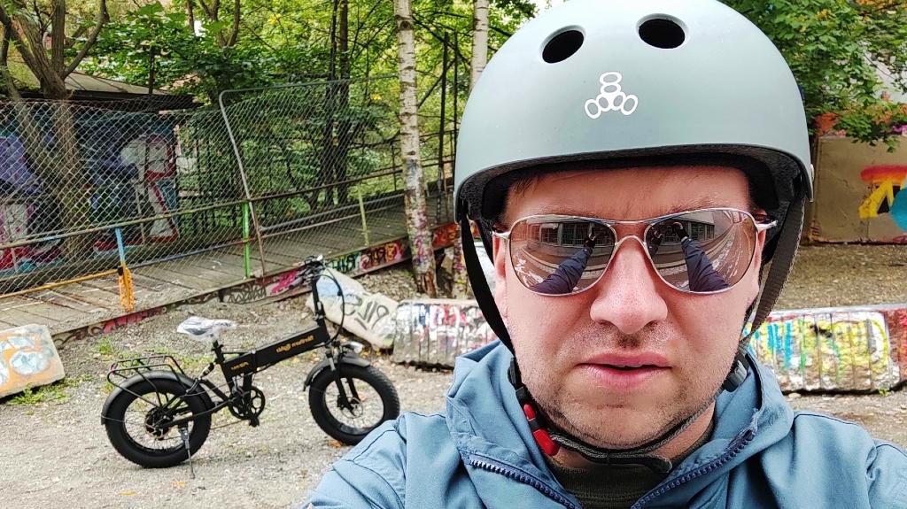 Meg og sykkelen min
