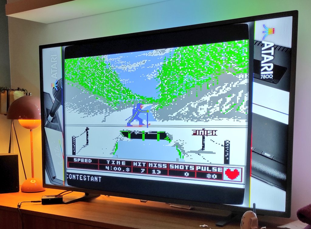 Winter Games fra Epyx