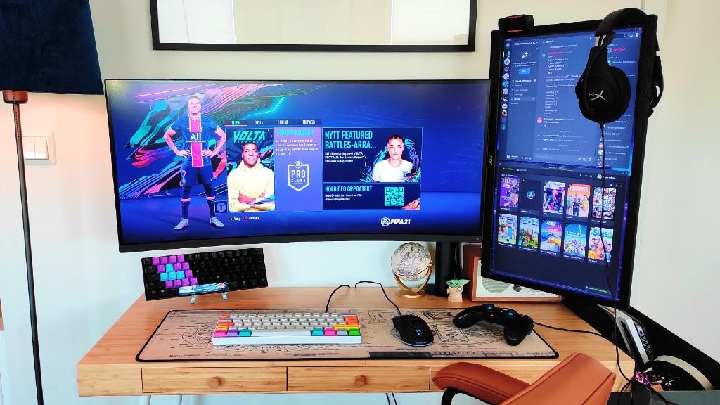 Desktop Setup Mai 2021