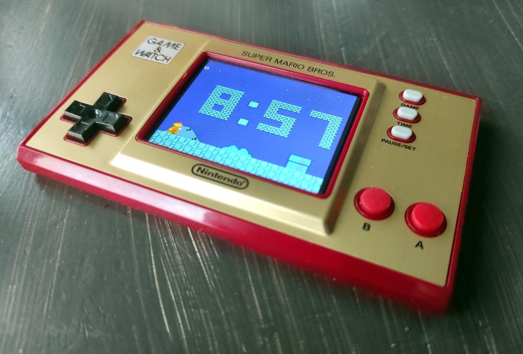 Game & Watch; Super Mario Bros.