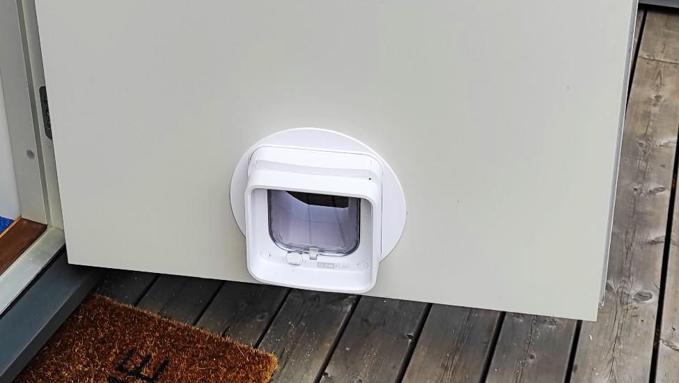 Katteluke innsiden