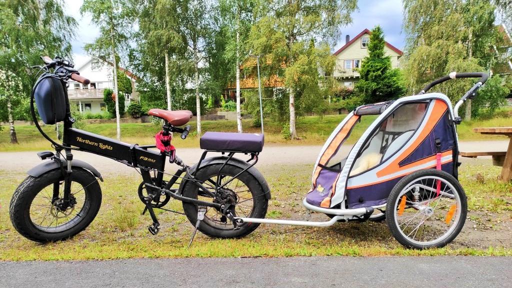 Northern Lights F3 Max med sykkelvogn